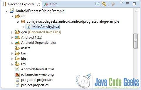 Android ProgressDialog Example   Examples Java Code Geeks - 2019