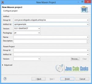 Spring JdbcTemplate - Configure-Maven-Project