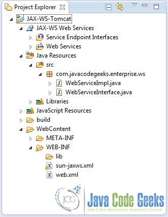Jax Ws Web Services On Tomcat Examples Java Code Geeks 2018