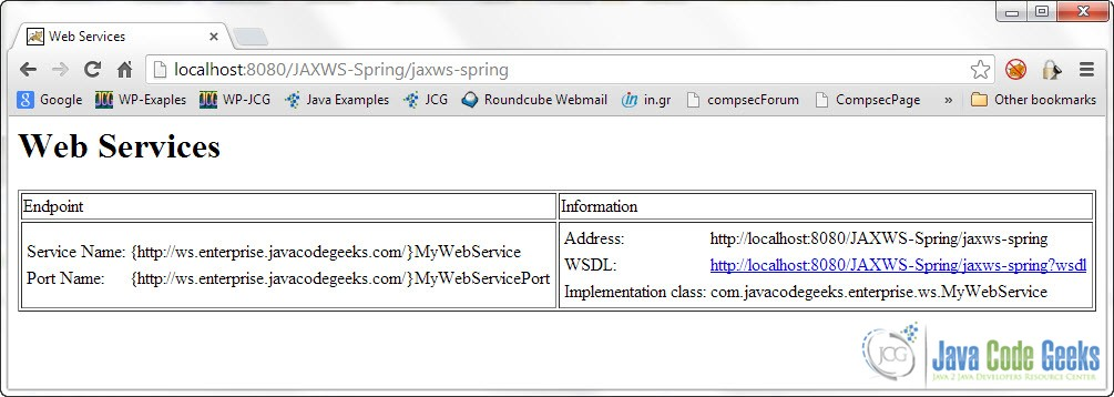 web-service-on-browser