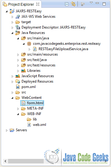 RESTEasy File Upload Example | Examples Java Code Geeks - 2019
