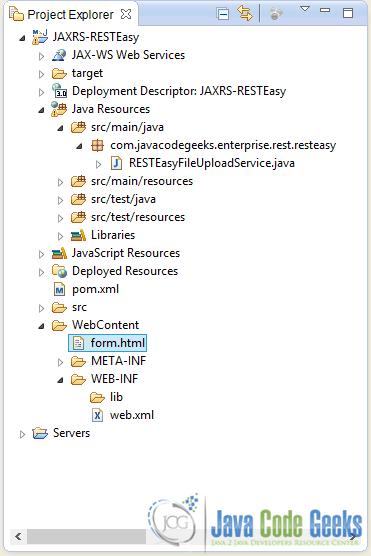 resteasy file upload example examples java code geeks   2017