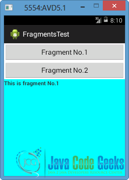 Android Fragments Example | Examples Java Code Geeks - 2019