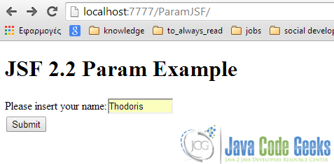 Param Tag - Prompt Page