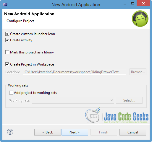 android slidingdrawer deprecated alternative 2