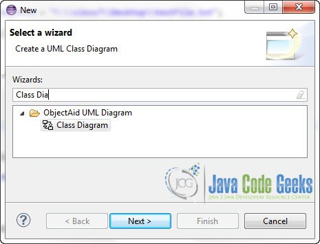 Eclipse class diagram example examples java code geeks 2018 figure 10 add new class diagram ccuart Image collections