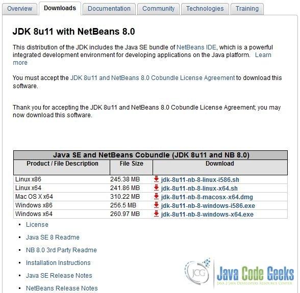 How to Install NetBeans IDE 8 0 in Ubuntu | Examples Java Code Geeks