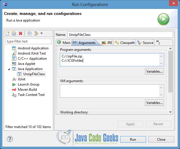Java Unzip File Example | Examples Java Code Geeks - 2019