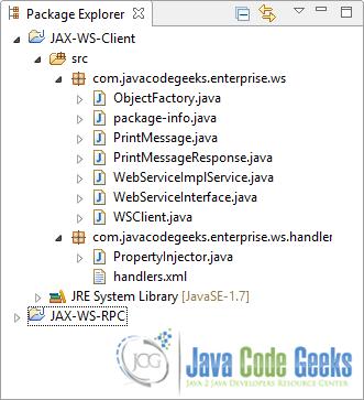 Jax Ws Soap Handler Example Examples Java Code Geeks 2018