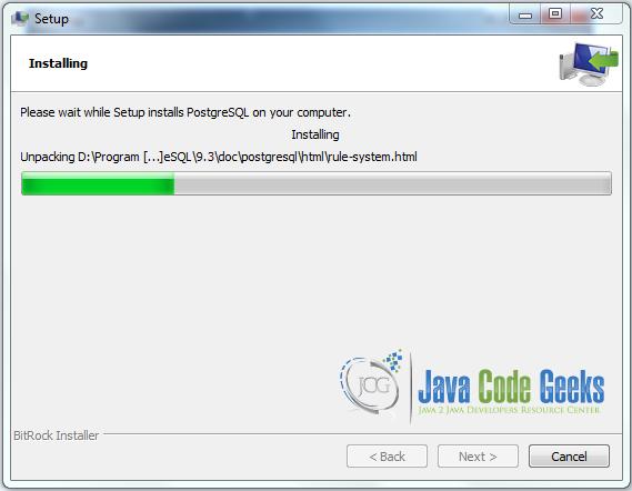 Java PostgreSQL Example   Examples Java Code Geeks - 2019