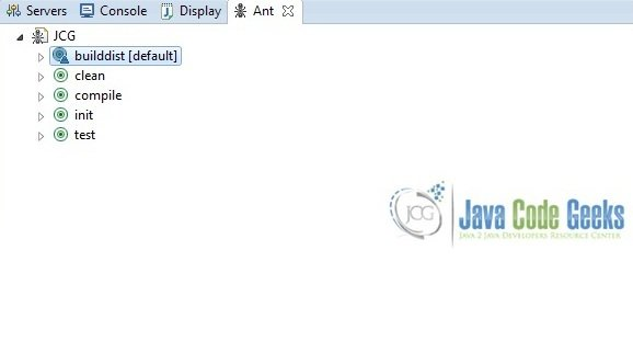 Sample Ant Build Jar File