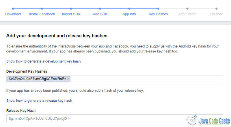 Android Facebook Login Example   Examples Java Code Geeks - 2019