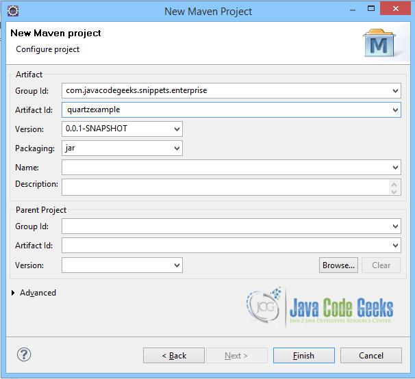 Quartz cron schedule Example | Examples Java Code Geeks - 2019