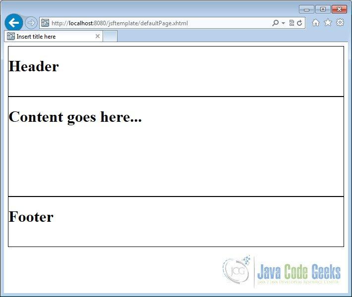 Facelets Template Ebook Database