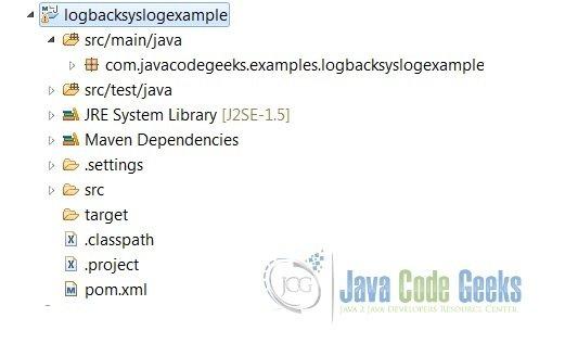 Logback Syslog Example Examples Java Code Geeks 2018