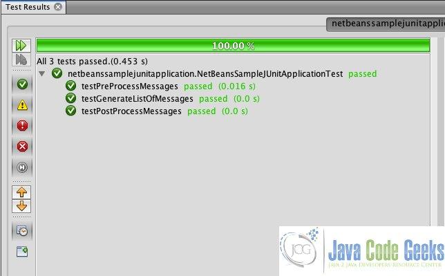 JUnit NetBeans Example | Examples Java Code Geeks - 2019