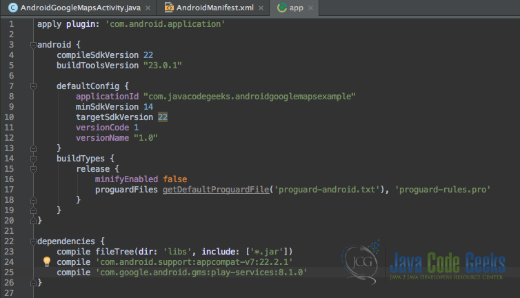 java compile android studio