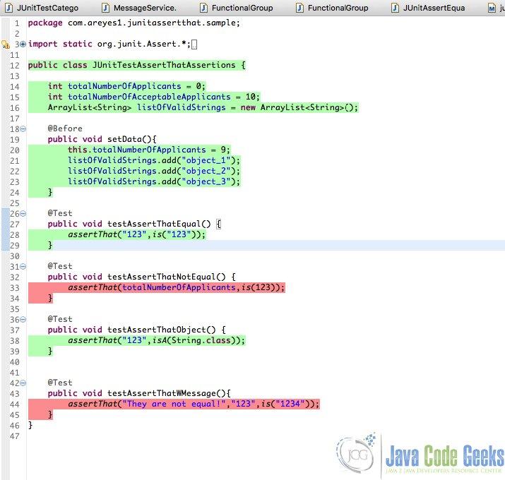 JUnit Code Coverage   Examples Java Code Geeks - 2017