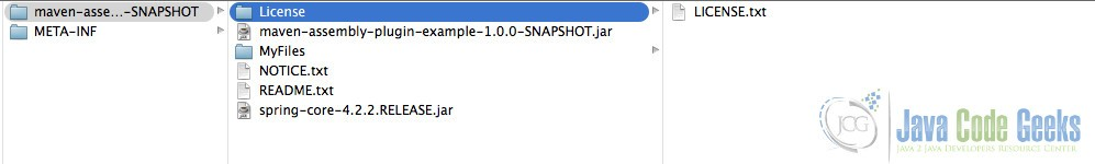 Maven Assembly Plugin Example Examples Java Code Geeks 2019