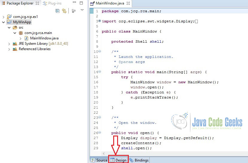 Eclipse Window Builder Tutorial for GUI Creation | Examples