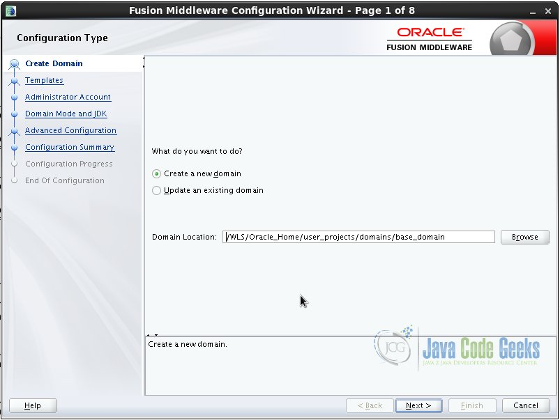 Weblogic Server Administration Tutorial | Examples Java Code Geeks
