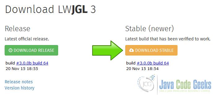 Lwjgl Tutorial | Examples Java Code Geeks - 2019
