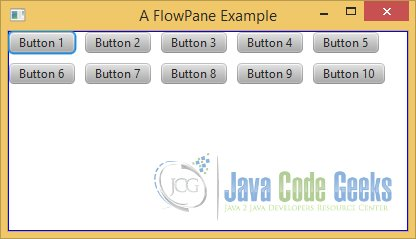 A FlowPane Example