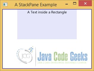 A StackPane Example
