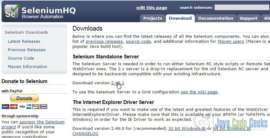 Selenium Grid Example | Examples Java Code Geeks - 2019