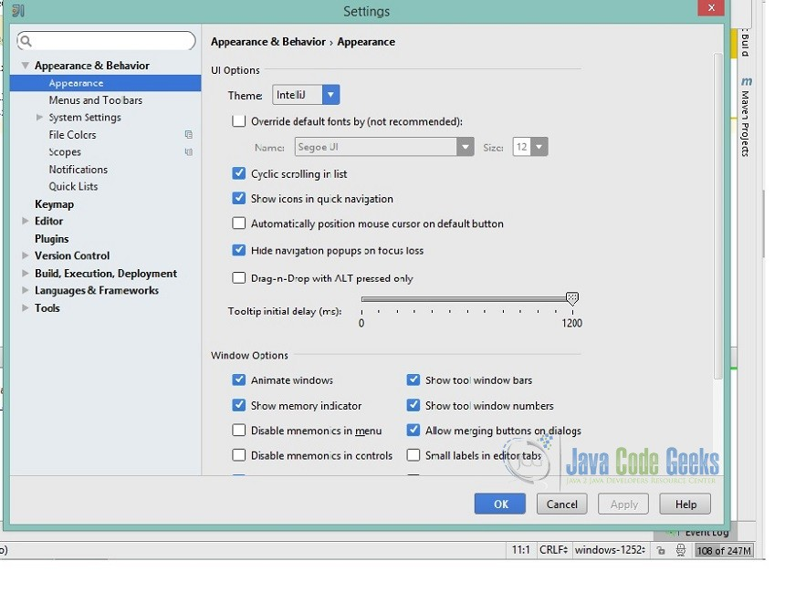 IntelliJ Increase Memory Settings | Examples Java Code Geeks - 2019