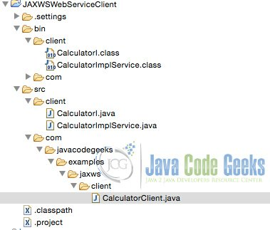JAX-WS Client Example | Examples Java Code Geeks - 2019