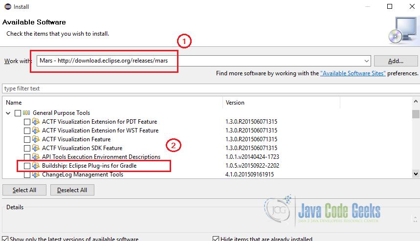 Eclipse Gradle Plugin Example | Examples Java Code Geeks - 2019