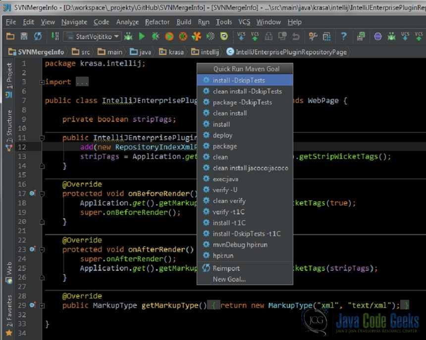 Maven Helper Intellij Plugin