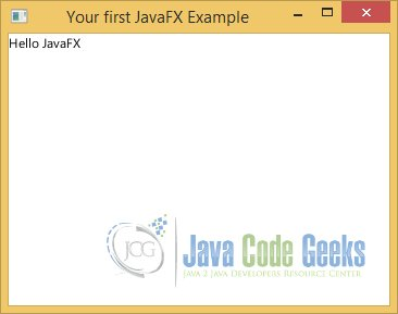 JavaFX Tutorial for Beginners | Examples Java Code Geeks - 2019