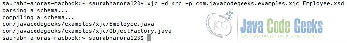 JAXB: Generate Classes from XSD   Examples Java Code Geeks
