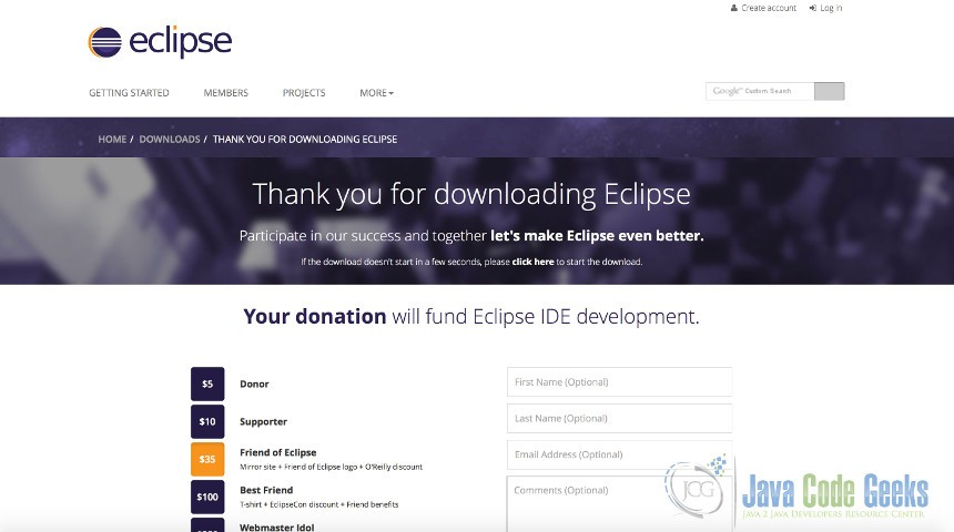 Eclipse Tutorial for Beginners | Examples Java Code Geeks - 2019