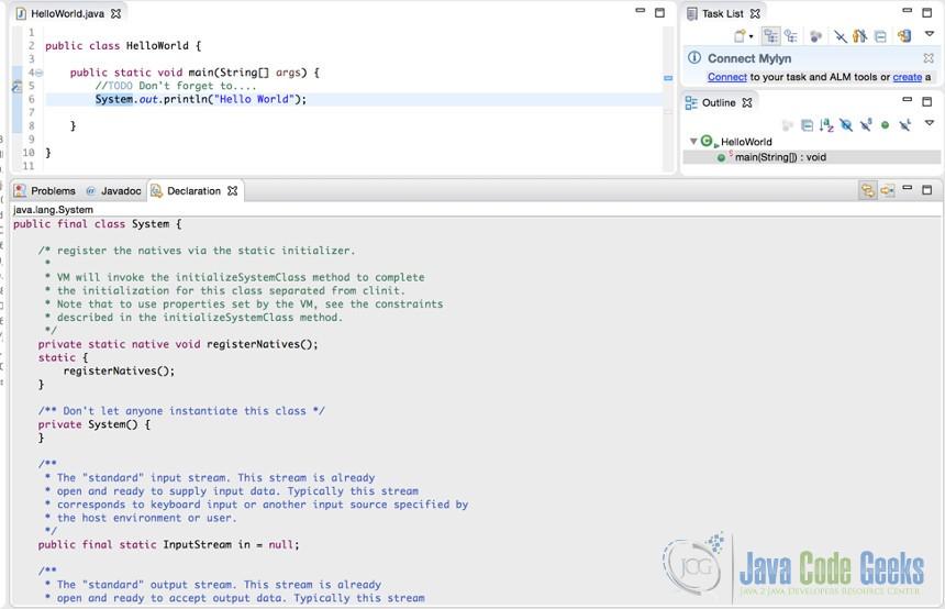 Eclipse Tutorial for Beginners | Examples Java Code Geeks - 2019