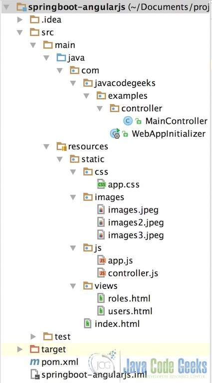 Spring Boot and AngularJS Integration Tutorial | Examples