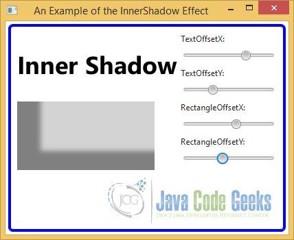 JavaFX Effects Example | Examples Java Code Geeks - 2019
