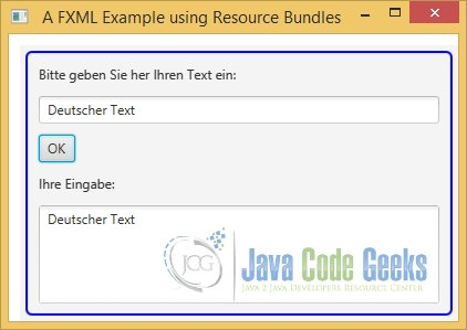 A JavaFX FXML Example with a ResourceBundle