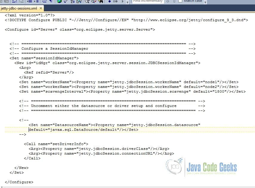 How jetty-jdbc-sessions.xml looks like