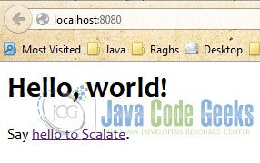 Localhost - Home Page