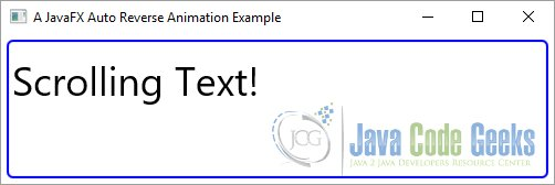 JavaFX Animation Example | Examples Java Code Geeks - 2019