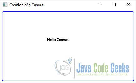 JavaFX Canvas Example | Examples Java Code Geeks - 2019