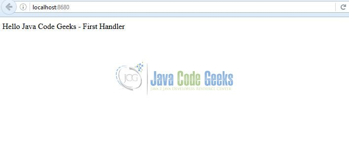 Hello Handler in Embedded Jetty Server