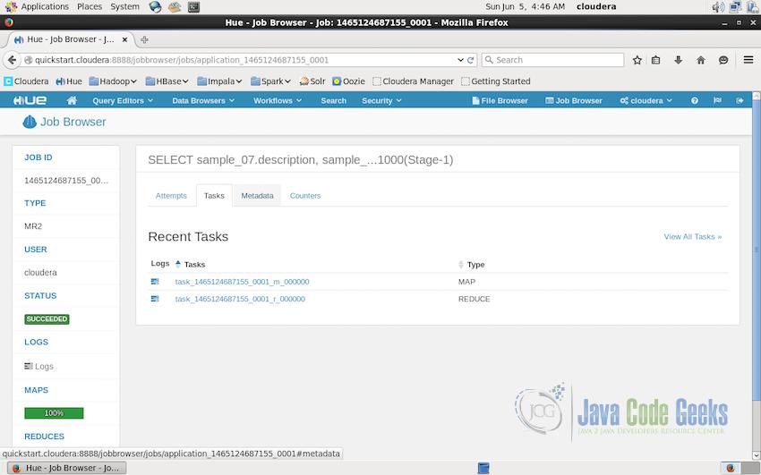 Apache Hadoop Hue Tutorial | Examples Java Code Geeks - 2019