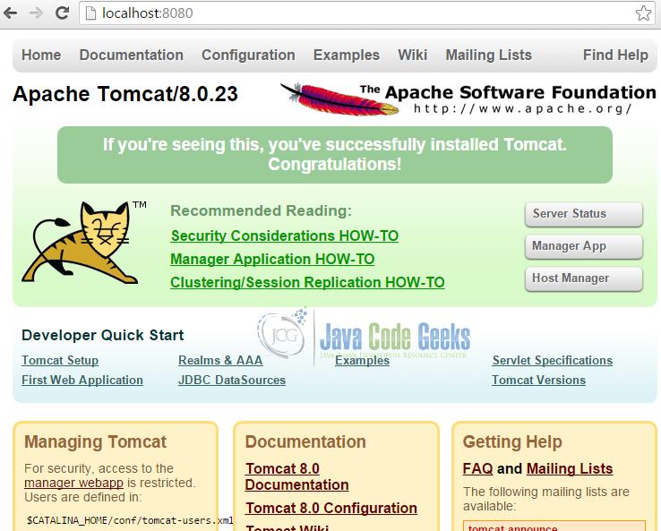 Apache Tomcat SSL Configuration Tutorial | Examples Java