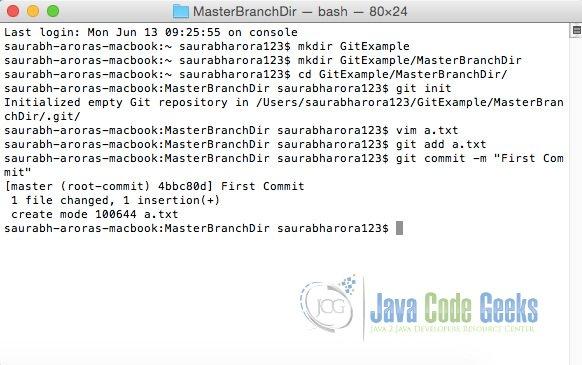 Git Delete Local Branch Example   Examples Java Code Geeks