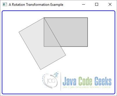 Javafx Transformation Example Examples Java Code Geeks 2018
