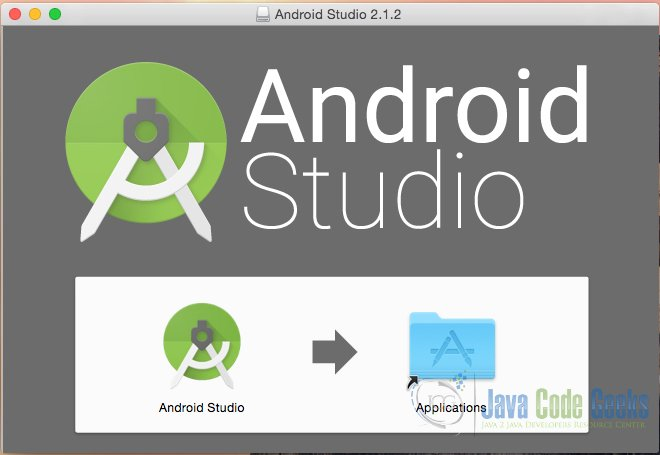 Android Studio Installation - step 1
